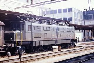 SBB 2-Do-1 2800hp Ac4 electric loco, 10.975, Lausanne, August 1973 Scans714