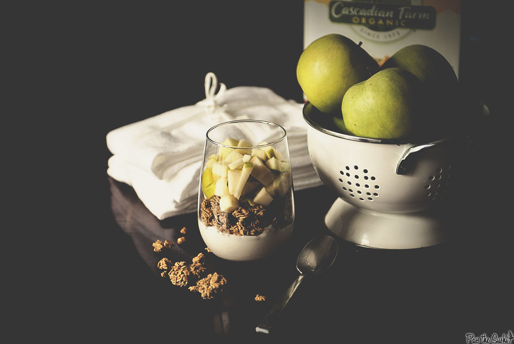 Apple and Granola Breakfast Parfait from Passthesushi.com