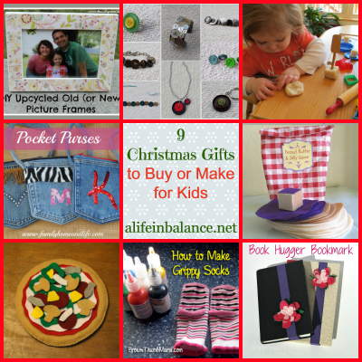 9 Christmas Gifts to Buy or Make for Kids