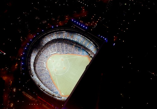 Dodgers @ Blue Jays 447m over ground