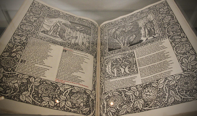 The Works of Geoffrey Chaucer edited by FS Ellis, Kelmscott Press, 1896