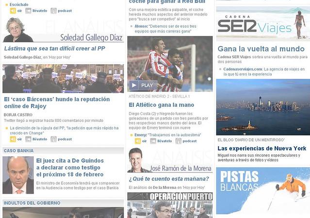 Diario de un Mentiroso en la home de CadenaSer.com