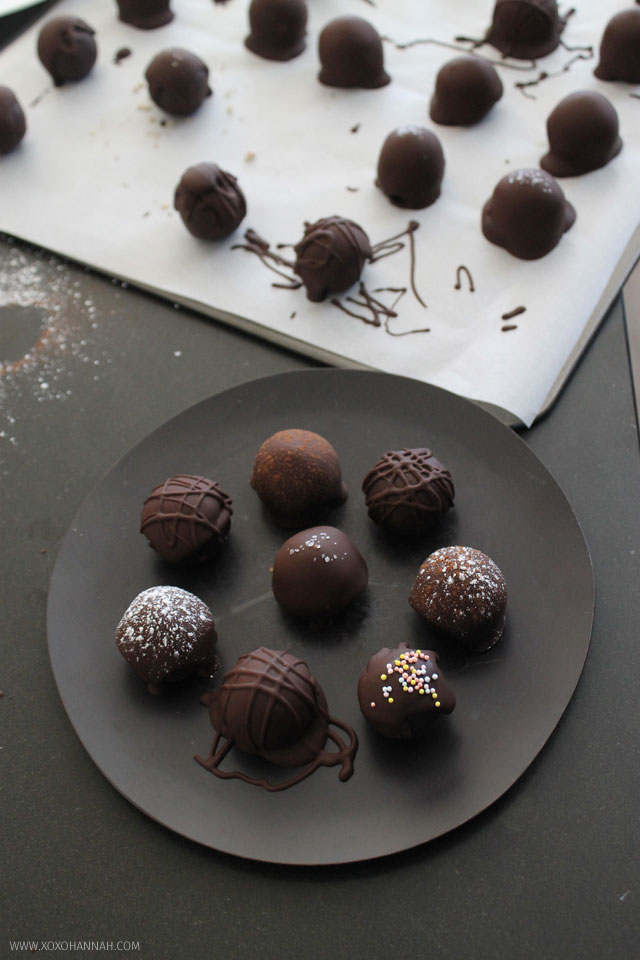 Chocoholic Brownie Batter Truffles