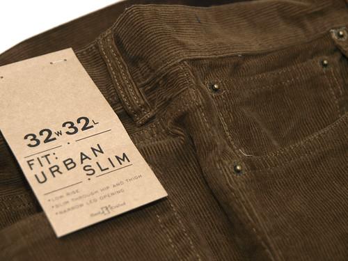 J.Crew / Urban Slim Corduroy Pant