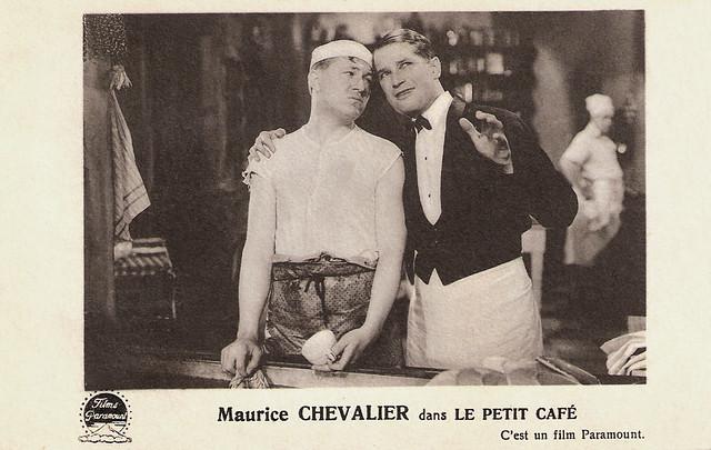 Maurice Chevalier, Le petit Café