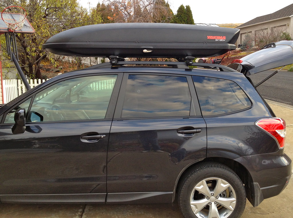 14 18 Which Roof Box Good Fit Yakima Vs Thule Page