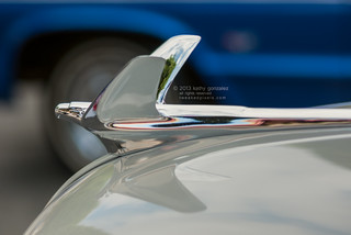 1950 chevy deluxe hood ornament