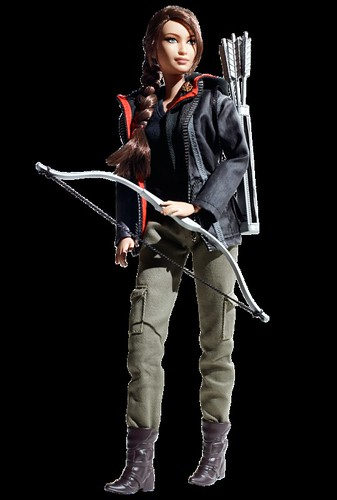 The Barbie version of Hunger Games hero Katniss