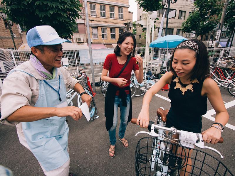 大阪漫遊 【單車地圖】<br>大阪旅遊單車遊記 大阪旅遊單車遊記 11003231065 9abe39208d c