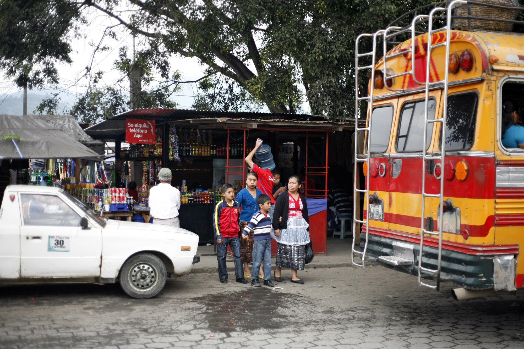 Antigua bus terminal