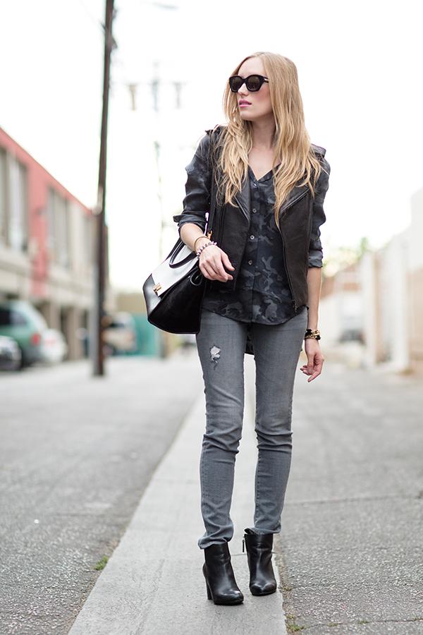 eatsleepwear, outfit, celine, rebecca-minkoff, grey, LA