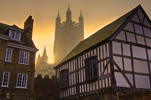 uk fog sunrise day gloucestershire gloucester regnounito gloucestercathedral canonefs1022mmf3545usm canoneos60 andreapucci
