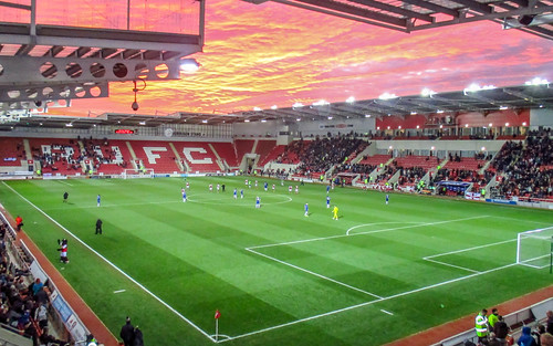 sunset explore fav10 rotherhamunited newyorkstadium