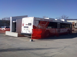 University of Utah all-electric bus