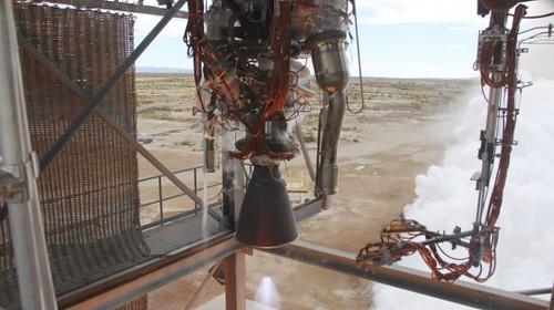Blue Origin испытала водородно-кислородный ракетный двигатель BE-3