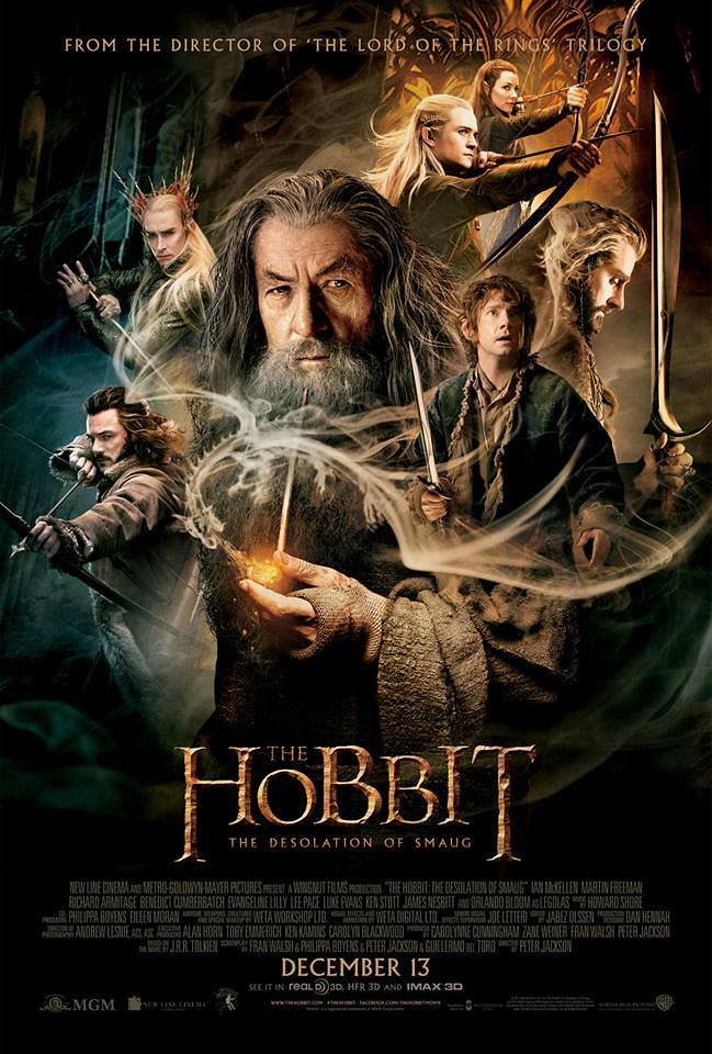 """The Hobbit: The Desolation Of Smaug"" Official Poster"