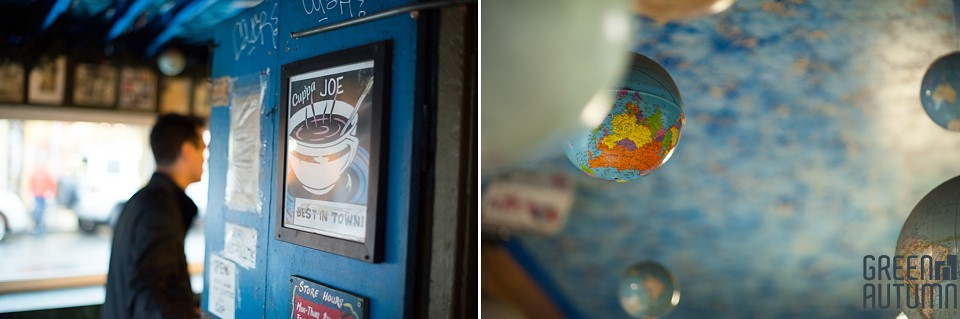 Kensington Market Cafe Toronto Engagement Session 0014