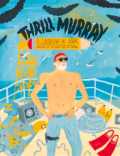 brightly illustrated cover of Thrill Murray