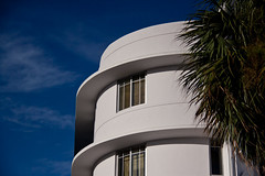 Art Deco Architecture on Lincoln Road - Miami Beach, FL