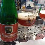 ベルギービール大好き!!オウト・ベルゼル・フランボワーズ Oud Beersel Framboise
