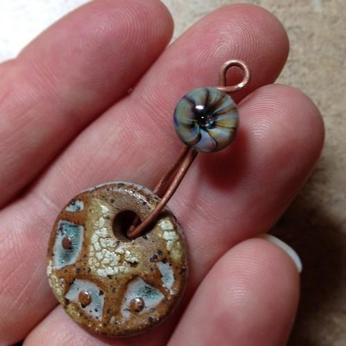 Earring tutorial #aje #artjewelryelements #lampwork