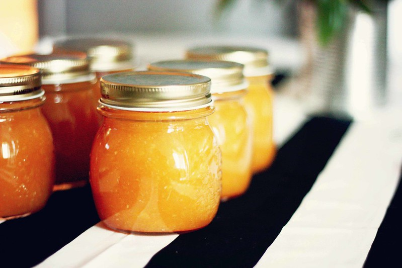 marmellata di arance e mandarini