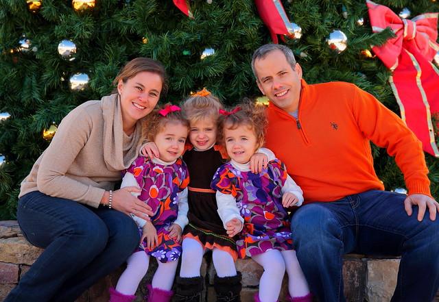 Family Christmas Portrait