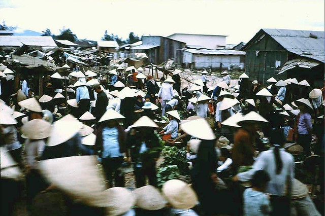 Market day at Phu Bai 1967