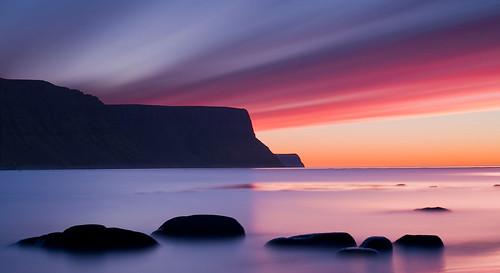 sunset iceland daniel westfjords bosma