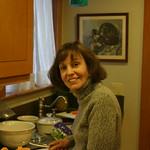 Mom cooking up something
