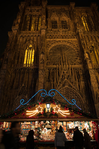 Christmas Market in Strasbourg, France