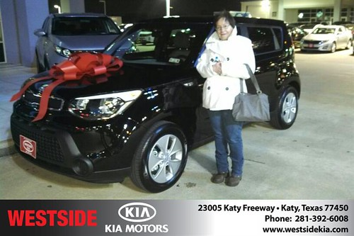 Happy Birthday to Debra Michalke from Gil Guzman and everyone at Westside Kia! #BDay by Westside KIA