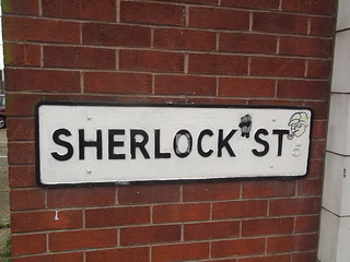 Sherlock Street – road sign