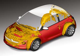 Rezyklate im Opel ADAM
