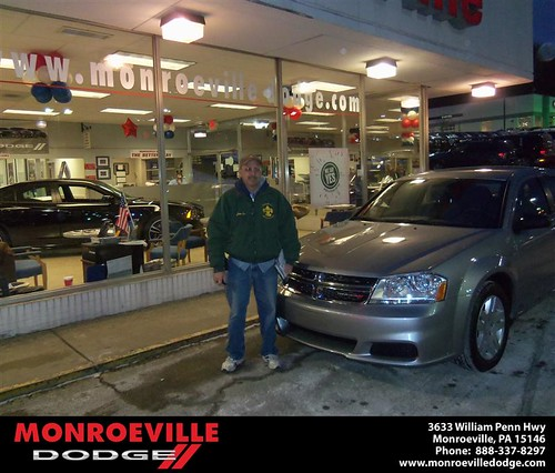Happy Anniversary to Daniel Herbert Bost on your 2013 #Dodge #Avenger from Chad Carpenter  and everyone at Monroeville Dodge! #Anniversary by Monroeville Dodge