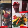 Beets & Kale & Carrots & Bananas & Apples & Peaches & Chia & Peanut Butter #vitamixGo! #PicFrame