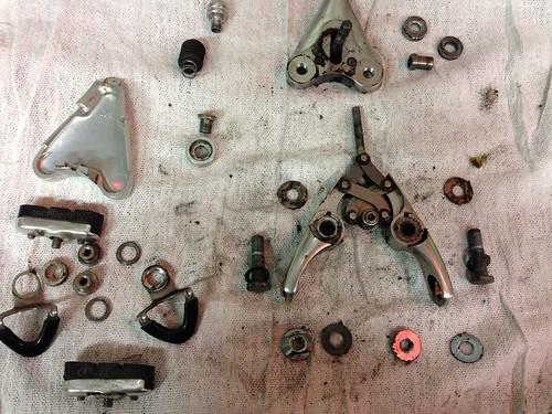 Campagnoo Delta brake overhaul 04
