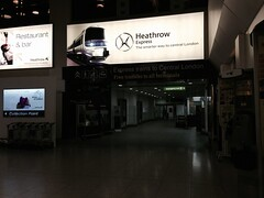 Heathrow Express Terminal 4 station
