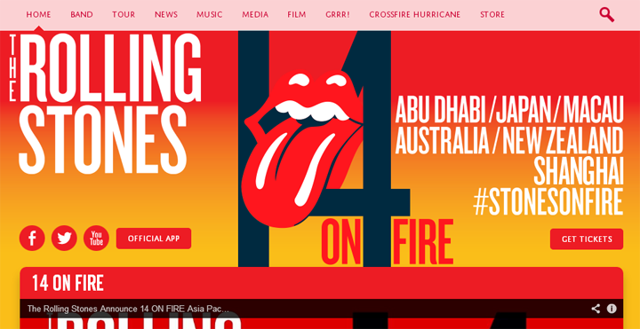 screenshot official website rolling stones | ekajogja.com
