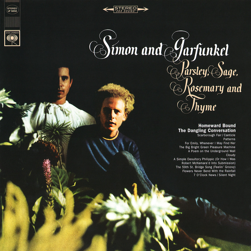 Simon Amp Garfunkel Lp Cover Art