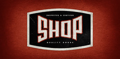 The Shop branding