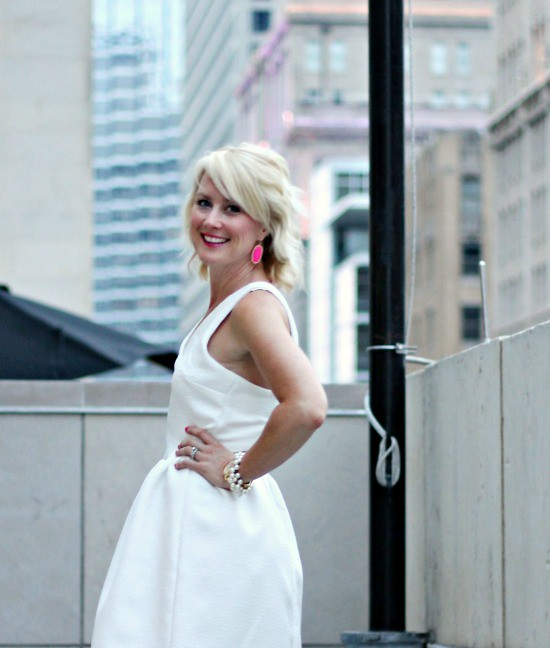 Hi Sugarplum | {Outfit Inspiration} White & Hot Pink