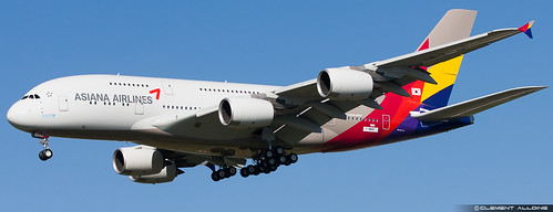 Asiana Airlines Airbus A380-841 cn 152 F-WWAP // HL7625