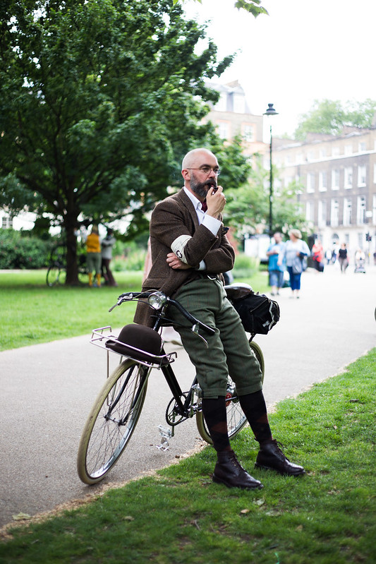 Street Style - Nigel, Tweed Run 2014