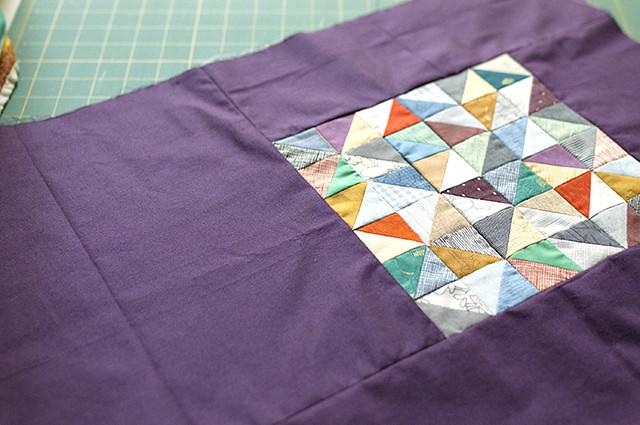 Half Square Triangles WIP