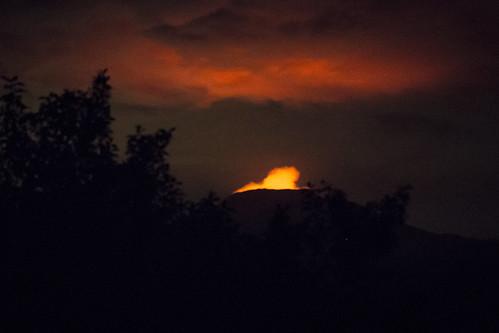 africa volcano drc 2014 kivu virunga