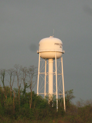 Water tower for Parkersburg, WV