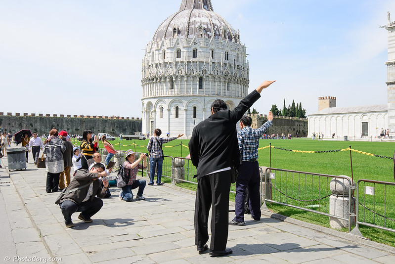 people photo Pisa Tower
