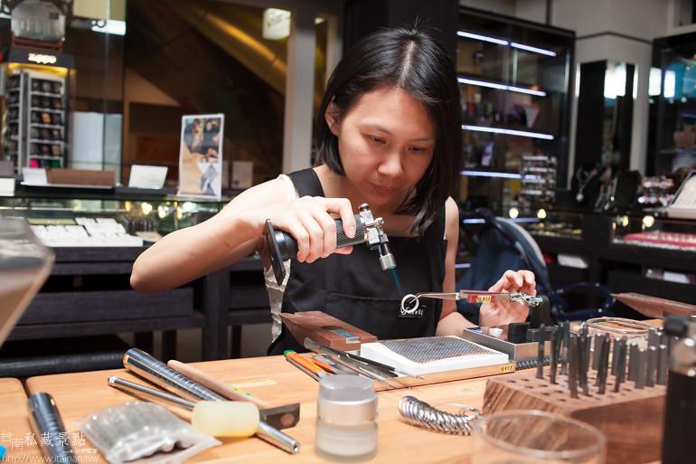 台南私藏景點--小安的店DIY銀飾 (25)