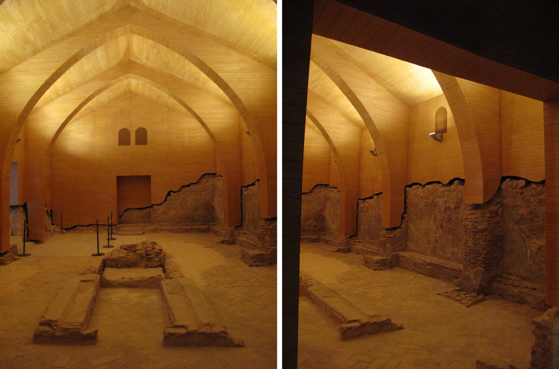 restos arqueológicos sinagoga